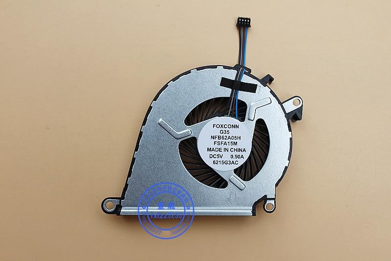 New CPU Cooler Fan For HP 15-AX 15-AX020TX 15-AX020 15-AX030TX 15-BC TPN-Q173 FOXCONN G35 NFB62A05H FSFA15M OMEN 2 PRO Radiator