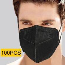 Respirator FPP2 Mask MASCARILLAS-FILTER Face-Protective FFP3 Ce Ffp2 FPP3 Kn95 Black