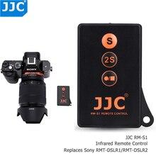 JJC Không Dây Điều Khiển Từ Xa IR Cho Sony A9II A7SIII A77II A7RIII A7R IV A7S A6600 A6500 A6400 A6300 Thay Thế RMT DSLR1 RMT DSLR2