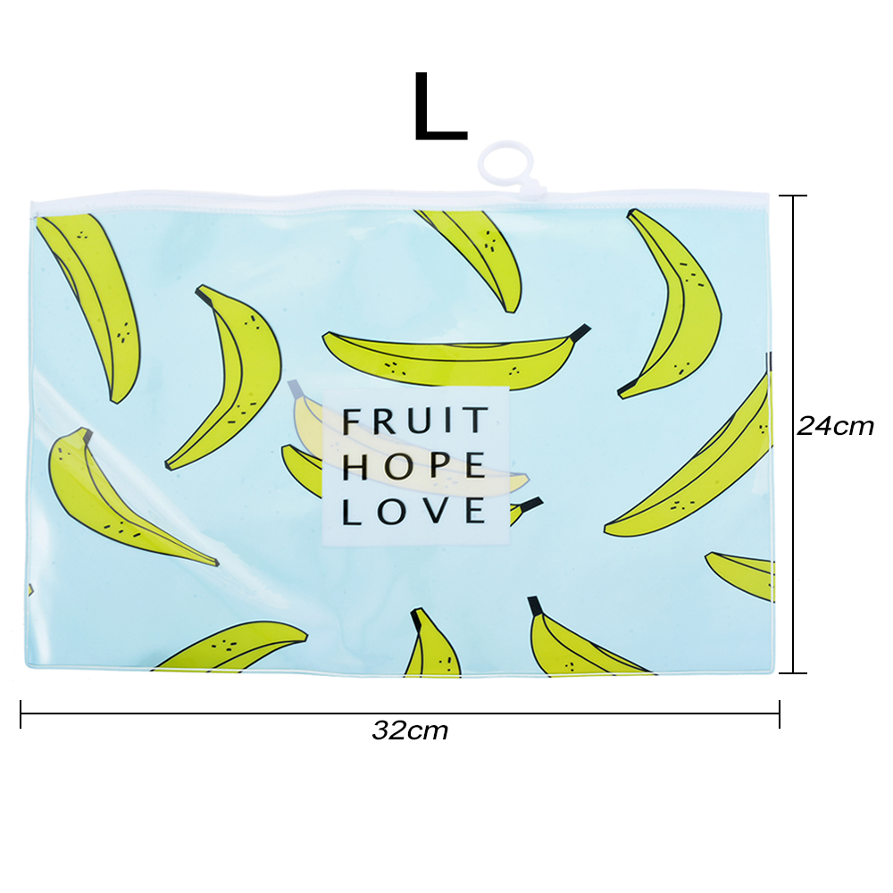 Banana Large Paper Bag Student Cartoon Test Bag Storage Bag -1