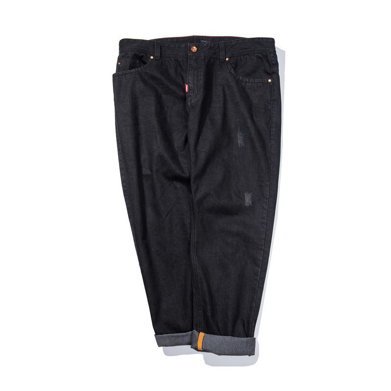 2020 Big Men's Fat Pants Plus Size Casual Loose Straight Jeans