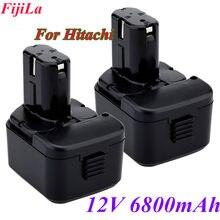 2020 para hitachi eb1214s ds12dvf3 bateria recarregável 12v4.8 ah/6.8ah ni-mh sem fio broca batteria eb1212s eb1220bl eb1214l e
