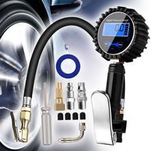 Цифровой шиномонтажный Манометр воздушный компрессор насос быстроразъемный