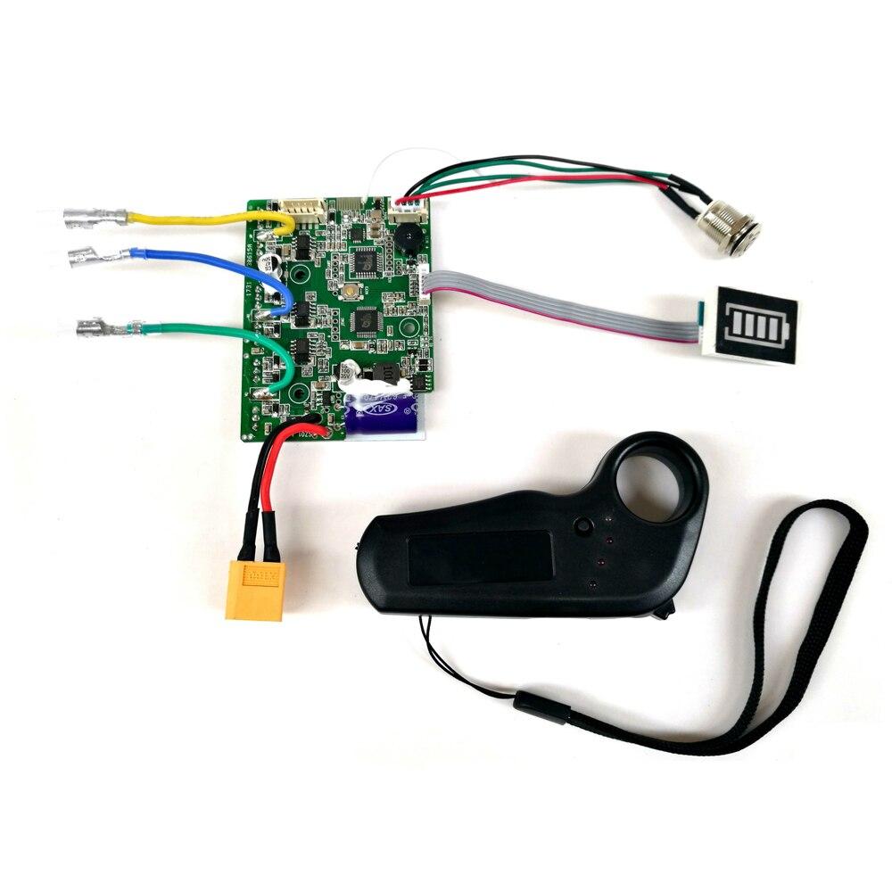 Moteur universel planche à roulettes électrique Longboard contrôleur d'entraînement moyeu moteur Mini télécommande accessoires panneau de commande
