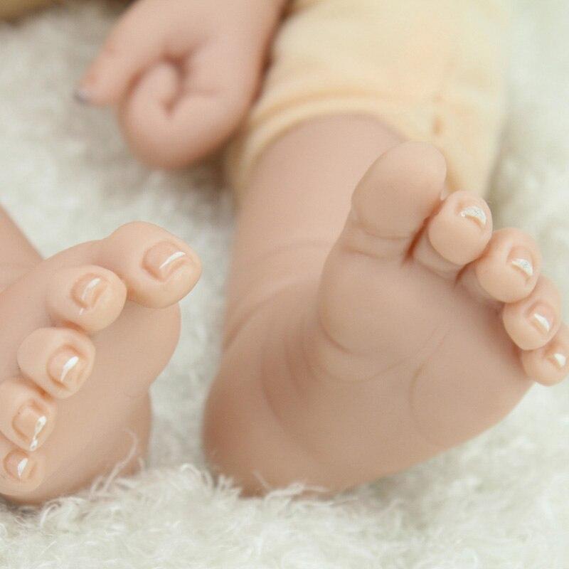 NPK Lol poupées Surprise jouets pour filles enfants bébé poupée jouets Silicone poupées renaître bébé Silicone Inteiro corps entier Bjd - 6
