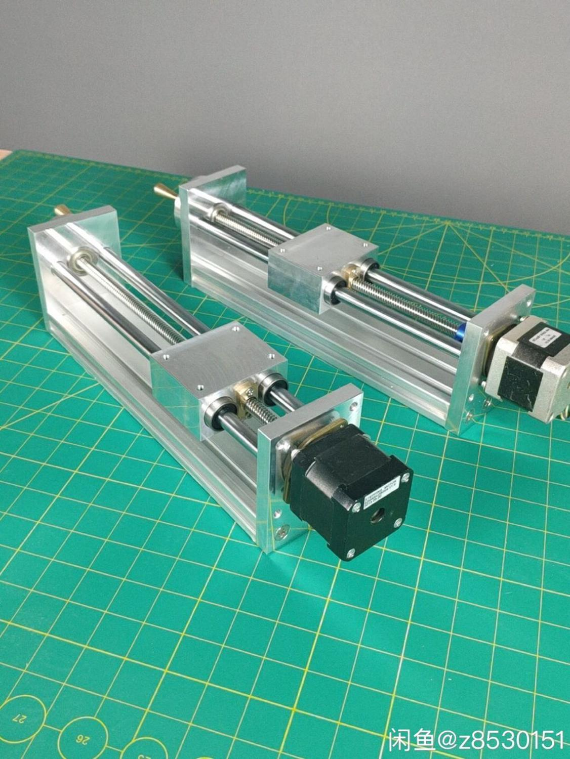 NEMA17 Stepper Motor CNC Z AXIS SLIDE 200mm Profile Pitch1MM  FOR CNC ROUTER Linear Motion Kit For Reprap 3D Printer CNC Parts