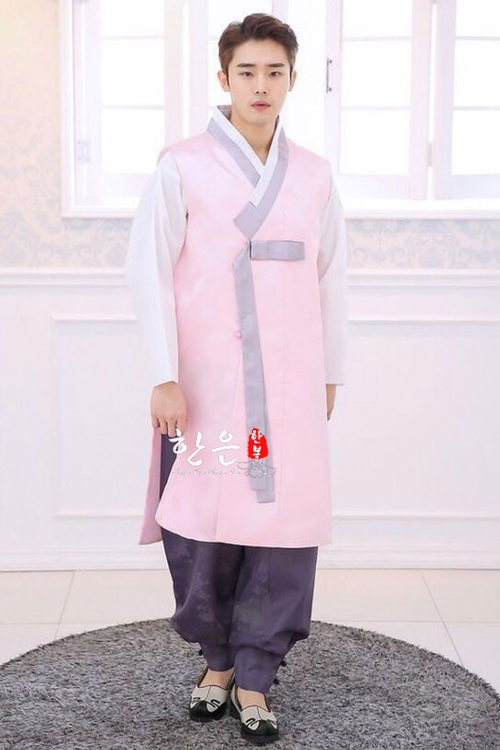 South Korea Imported Korean Clothing Fabric/Bridegroom Korean Clothing/Men's Korean Clothing/New Korean Clothing /HE-NS1202