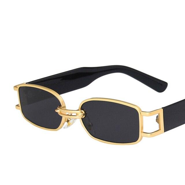 Фото очки солнцезащитные женские в стиле хип хоп uv400