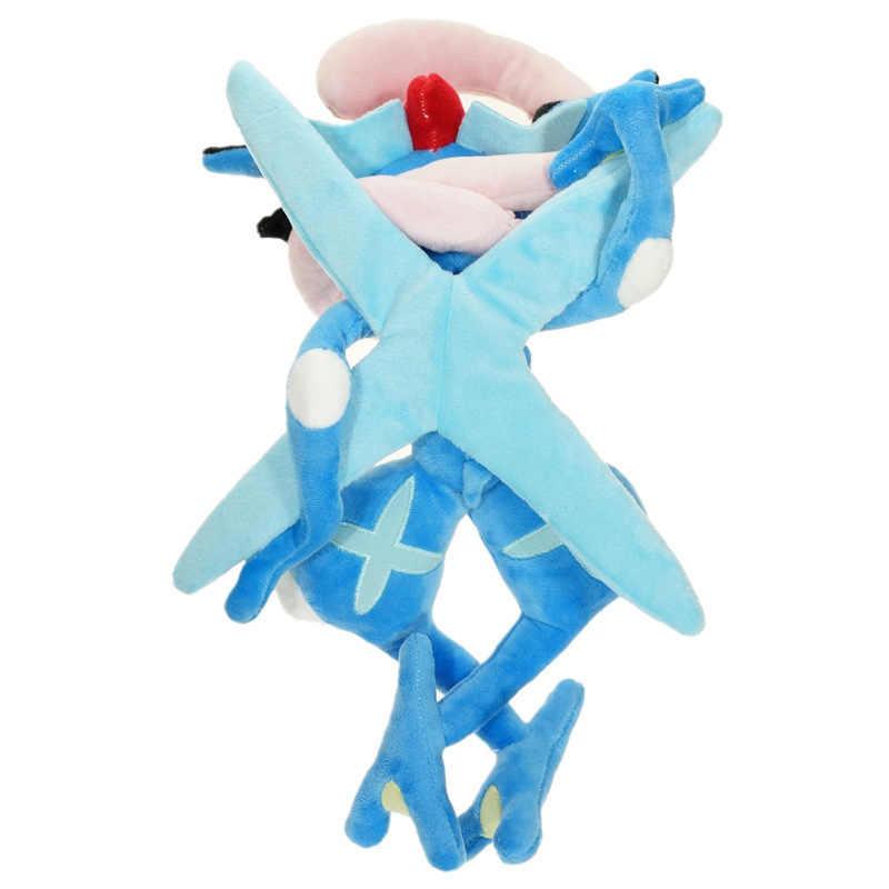 Pokemon 30 ซม.Pikachu Greninja ตุ๊กตาตุ๊กตาของเล่นตุ๊กตาตุ๊กตา Peluche ของขวัญเด็กคริสต์มาส
