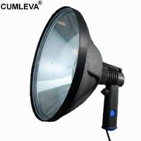 10 12V 100W Halogen Marine Light 240mm 1000LM Hunting Handheld Lamp Adjustable Beam Spotlight Outdoor Offroad Waterproof Lamp