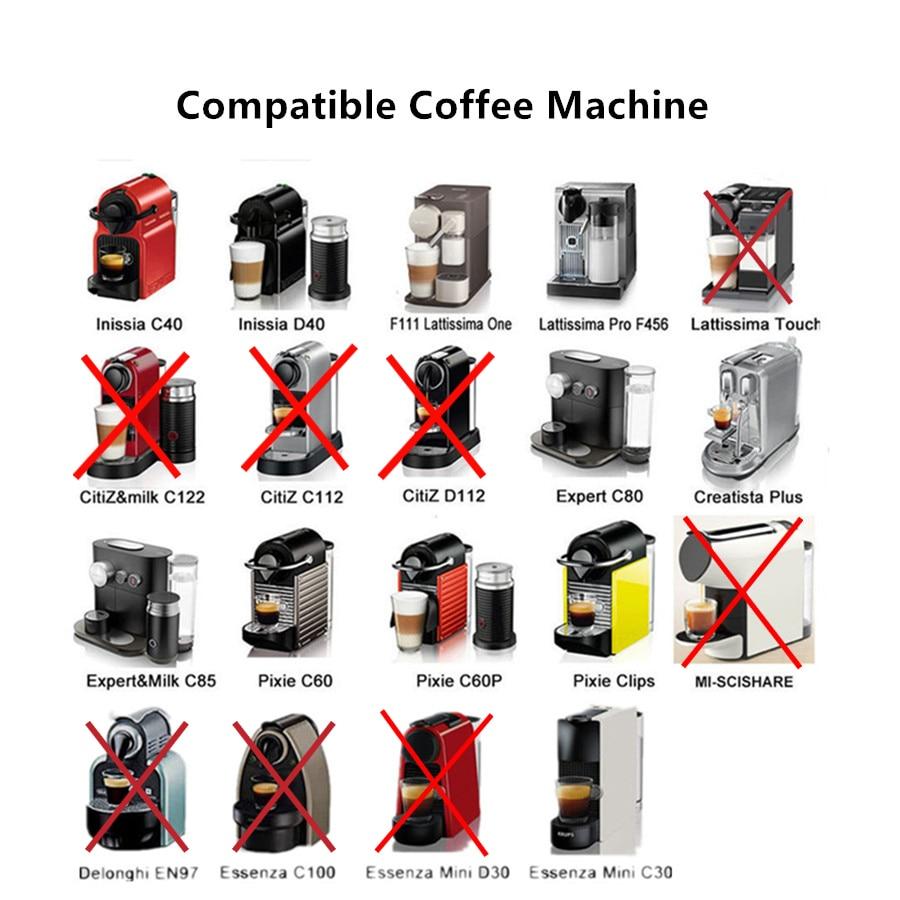 Nespresso многоразовые капсулы из нержавеющей стали многоразовые капсулы Nespresso