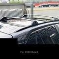 Barres de toit de voiture porte-bagages barre pour TOYOTA RAV4 20190 2020 haute qualité en alliage d'aluminium accessoire automatique