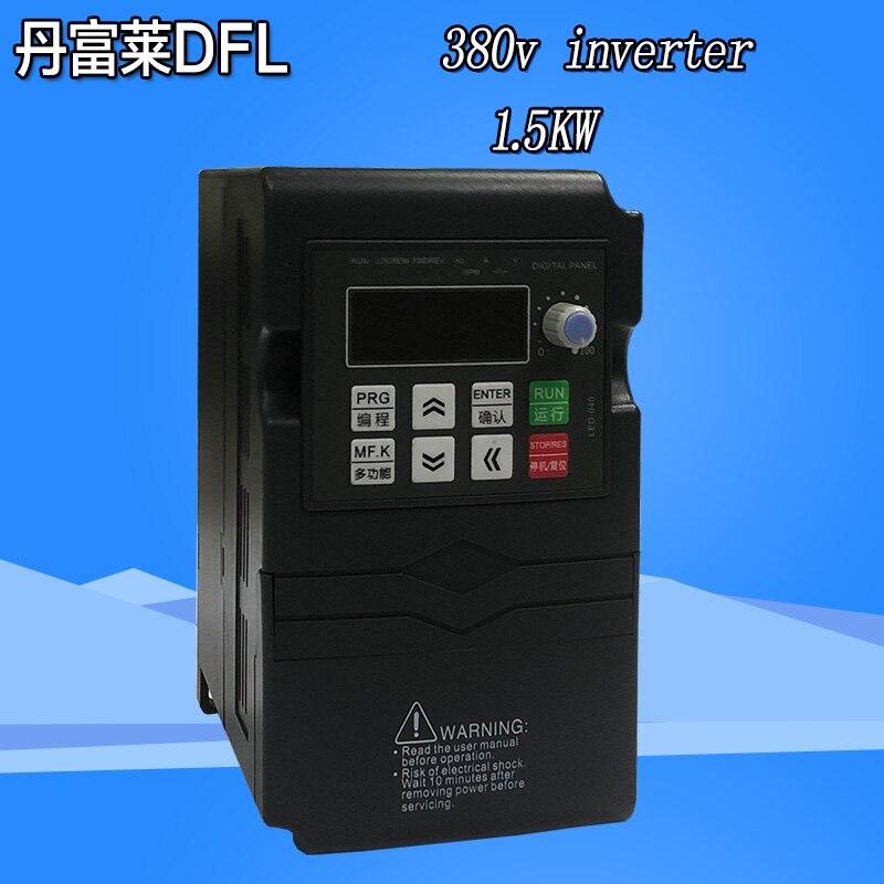 Regulator częstotliwości 220/380 v 3 silnik fazowy Regulator prędkości wektor przetwornik częstotliwości konwerter 50Hz/60Hz 0.4KW 0.75KW 1.5KW