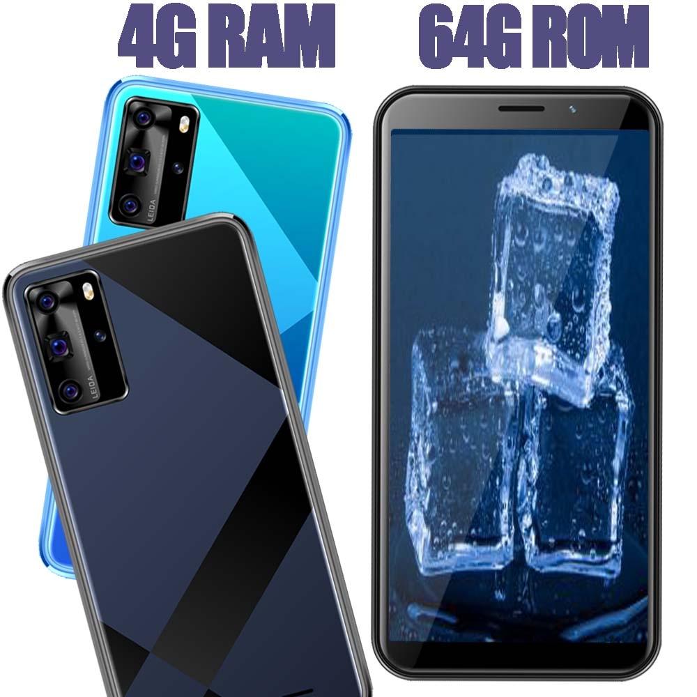 Teléfono Inteligente 8A, Android, 4 GB de RAM, 64 GB de ROM, identificación facial, desbloqueado, 5,5 pulgadas, versión Global, Sim Dual, Wifi