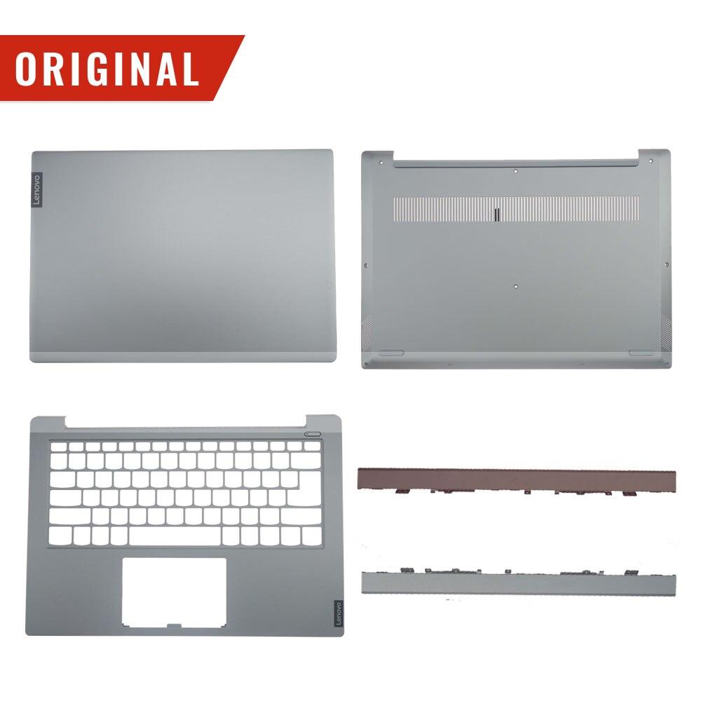 Original For Lenovo Ideapad Xiaoxin 14 S340-14 S340-14IWL S340-14API LCD Back Plamrest Bottom Base Hinge Cover AM2GK000110