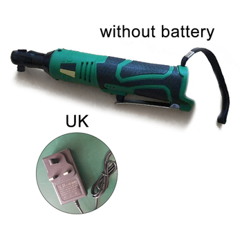 18V 3/8 Cordless Electric Ratchet Wrench Right Angle Fastening Power Tool