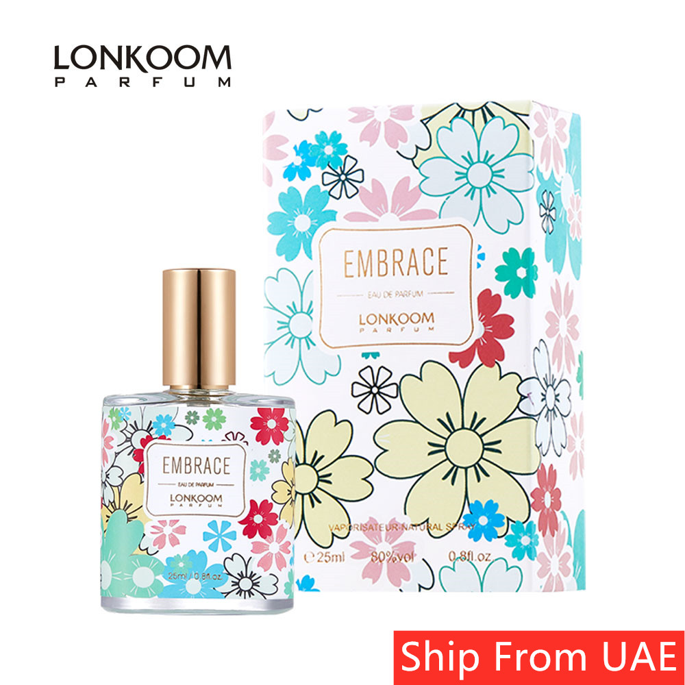 LONKOOM Perfume Oriental-fruity Scent Eau De Parfum Women's Fragrance Travel Size Antibacterial Spray 25ML-EMBRACE Free Shipping