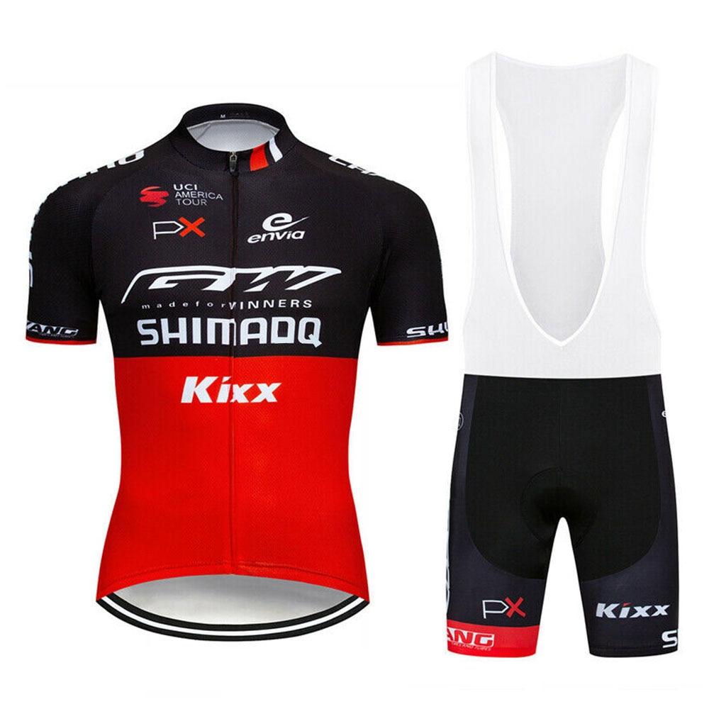 Shimanoful pro equipe 2020 ciclismo roupas equipamentos de corrida da bicicleta secagem rápida dos homens conjunto camisa ciclismo ropa maillot