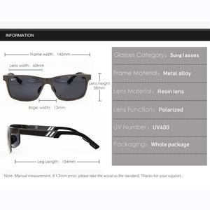 Image 5 - Polarized glasses Sunglasses UV400 Classic Brand Sun glasses Driving Mens designer masculino Male Mirror Eyewear