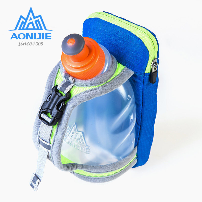 AONIJIE Hand Held Hydration Pack Running Hand Bag Kettle Lightweight With Water Bottle For Outdoor Hiking Cycling Jogging E907