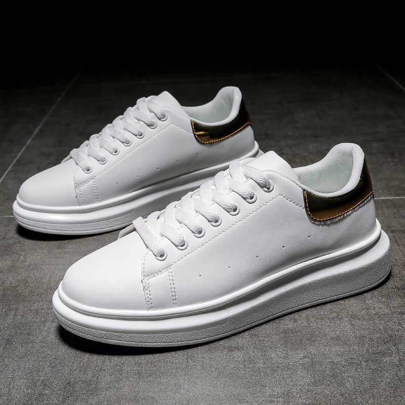 Fashion White Shoes Men Luxury Men