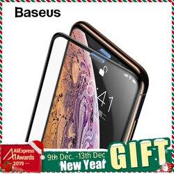 Baseus 3d protetor de tela para o iphone xr 0.3mm ultra fino vidro protetor para o iphone xs x xs max 7 8 vidro temperado filme frontal