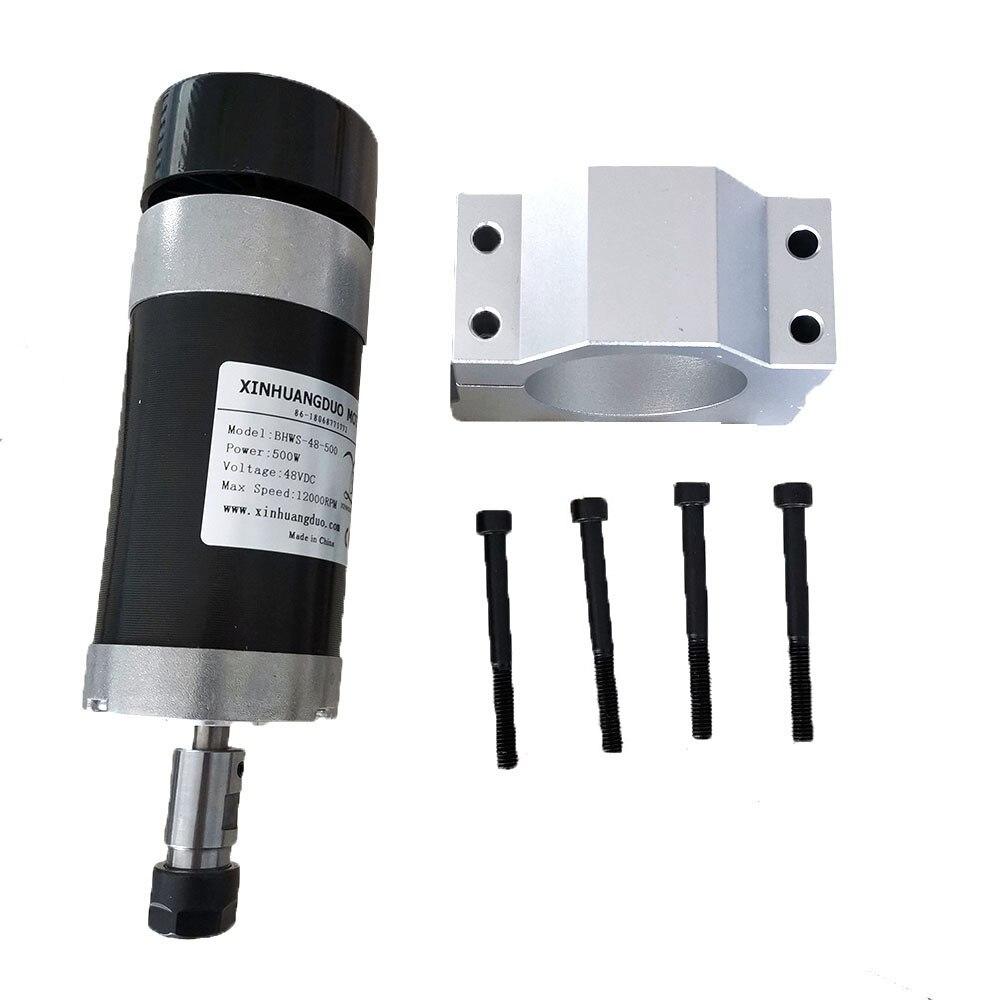 DC110V 600W Spindle Motor ER16 Air-Cooled 12000rpm for CNC Router DIY Milling