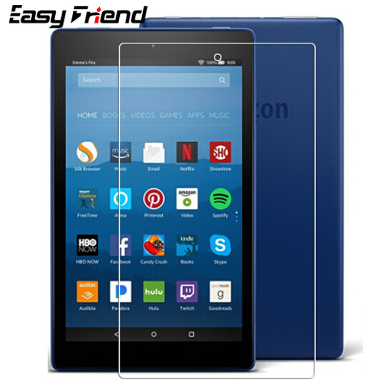 For Amazon Kindle Fire HD 6 7 X7 8 2017 2016 2015 2018 HD6 HD7 HDX7 HD8 Tablet Protective Film Tempered Glass Screen Protector