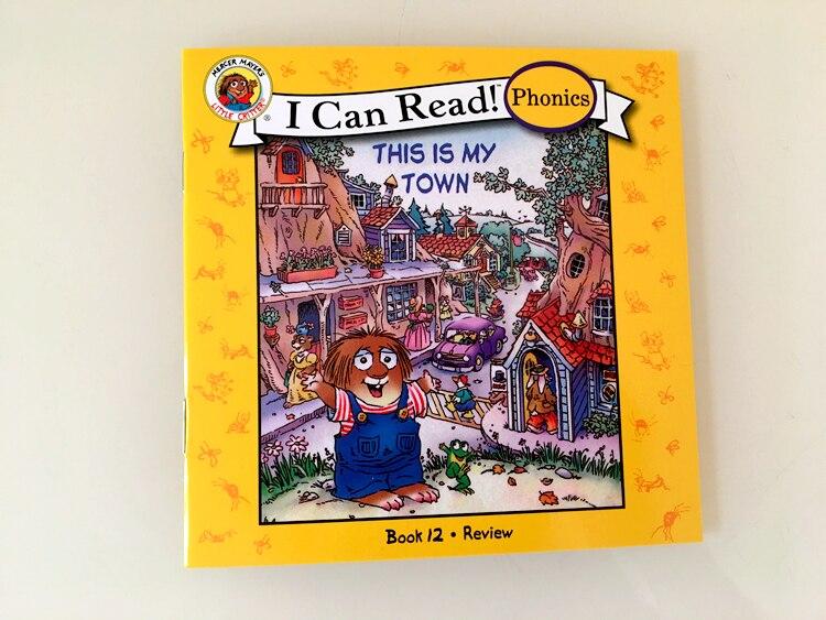 12 livros conjunto eu posso ler fonics