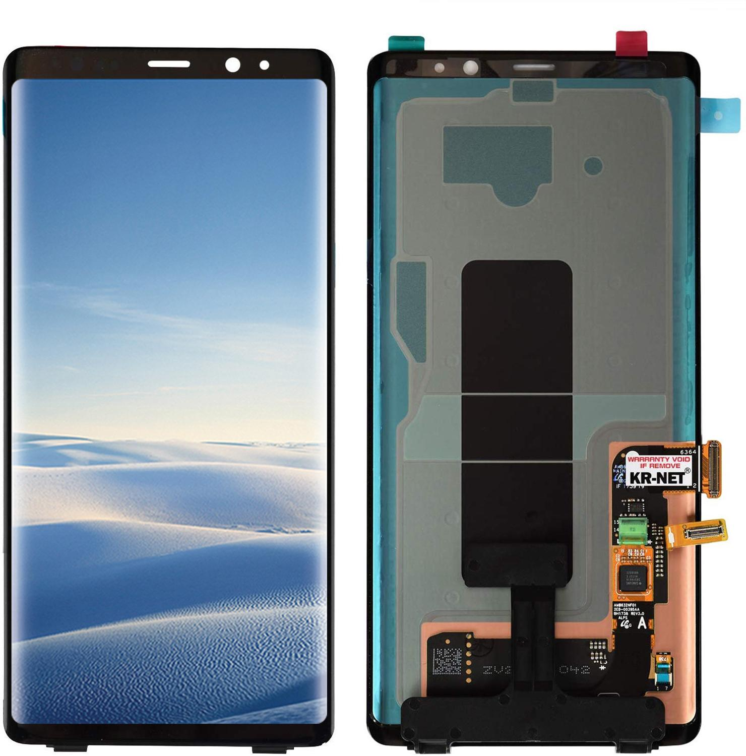 Original 100% Super AMOLED Lcd For Samsung  Galaxy Note 8 Screen N9500 N950Fd N950U Display Note8 Lcd With Black Spots Dot