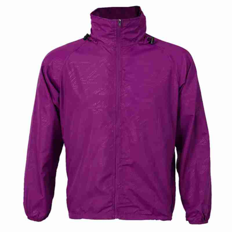 Outdoor Unisex Cycling Running Waterproof Windproof Jacket Rain Coat  Purple Red XL|Hiking Jackets| |  - title=