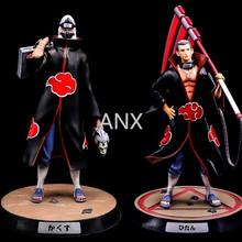 30CM Naruto GK Hidan Kakuzu Figure PVC Action Anime Collectible Model Toys Gift Doll Xiao Organization Naruto Figure цена 2017