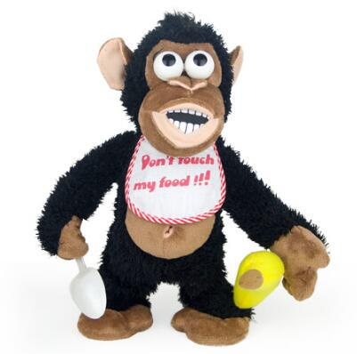 Stance Magnetron Monkey Innovation Magnet Control Switch Surprise Gift Plush Electric Doll Popular