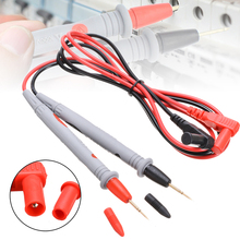 Electrical Multi Meter Testing Pen Cable 1000V 20A Universal 2pcs/1lot Portable Digital Multimeter Lead Probe Tools Wire 110cm electrical probe testing lead wire hooks yellow 20 pack