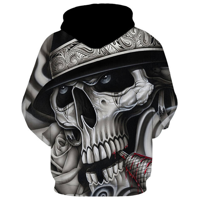 3D FUN ARISTOCRATIC LADY HOODIE