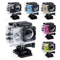 Minicámara DV subacuática para coche, videocámara de acción a prueba de agua, 1080P, 4K, 30fps, WIFI, pantalla de 2,0