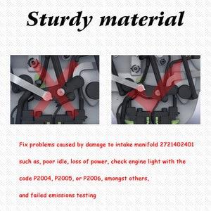 Image 3 - Un Set di PA66 Nylon 66 Collettore di Aspirazione Aria Flap Runner Kit di Riparazione per Mercedes Benz C350 E350 ML350 R350 oe 2721402401 EA080
