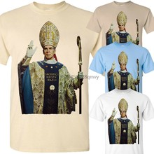 Bispo sheen v4 christian t camisa tamanhos S-5XL marrom caqui branco