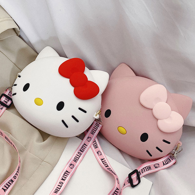 Crossbody Bags for Women Shoulder Bag Tote Bags Female Handbags Silicone Purse Messenger Cross Body Bag Clutch Cartoon Pouch Bag