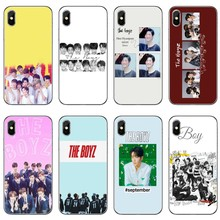 KPOP akcesoria BOYZ etui na telefon iPhone 11 Pro XS Max XR X 8 7 6 6S Plus 5 5S SE 4S 4 iPod Touch 5 6(China)