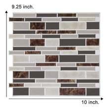 3d Наклейка на стену Самоклеящаяся мозаика настенная плитка