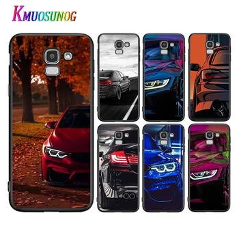 Blue Red Car for Bmw For Samsung Galaxy J2 J3 J4 Core J5 J6 J7 J8 Prime duo Plus 2018 2017 2016 Silicone Phone Case image