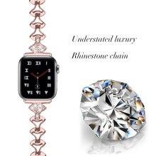 Браслет из нержавеющей стали для apple watch 5 band 38 мм 42