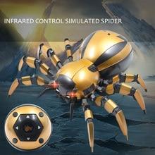 Робот-паук KaKBeir беспроводной со светодиодный Ной подсветкой, 1652982