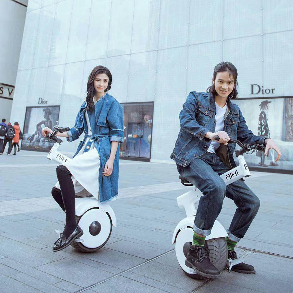Daibot Smart Electric Scooter One Wheel Self Balancing Scooters Motor 800W Folding Electric Unicycle Scooter With Brake System