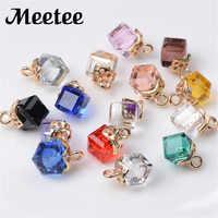 30/100 Uds. 8mm Botón de diamantes de imitación ropa camisa Botones Decorativos DIY Botones de cristal hebilla boda invitación tarjeta C2-1