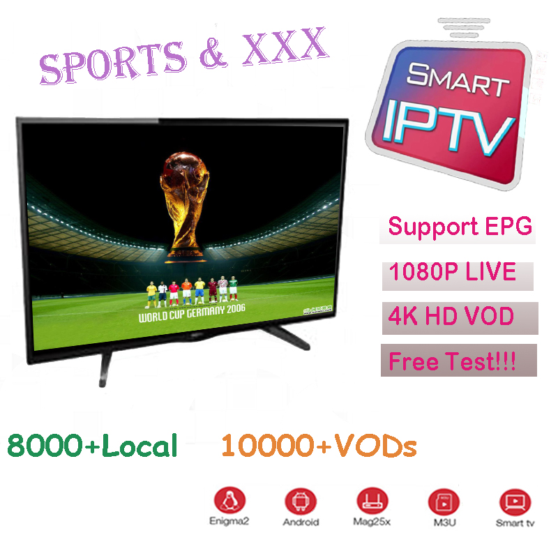 Europe Iptv Sports XXX 1 Year Iptv Subscription Portugal Spain Italy USA Dutch Iptv M3u For Smart TV Android Box