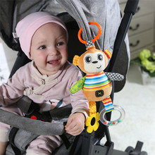 Activity Toy Stroller Hanging-Toy Fabric-Material Newborn-Baby Rattle-Bed-Bell Animal-Doll