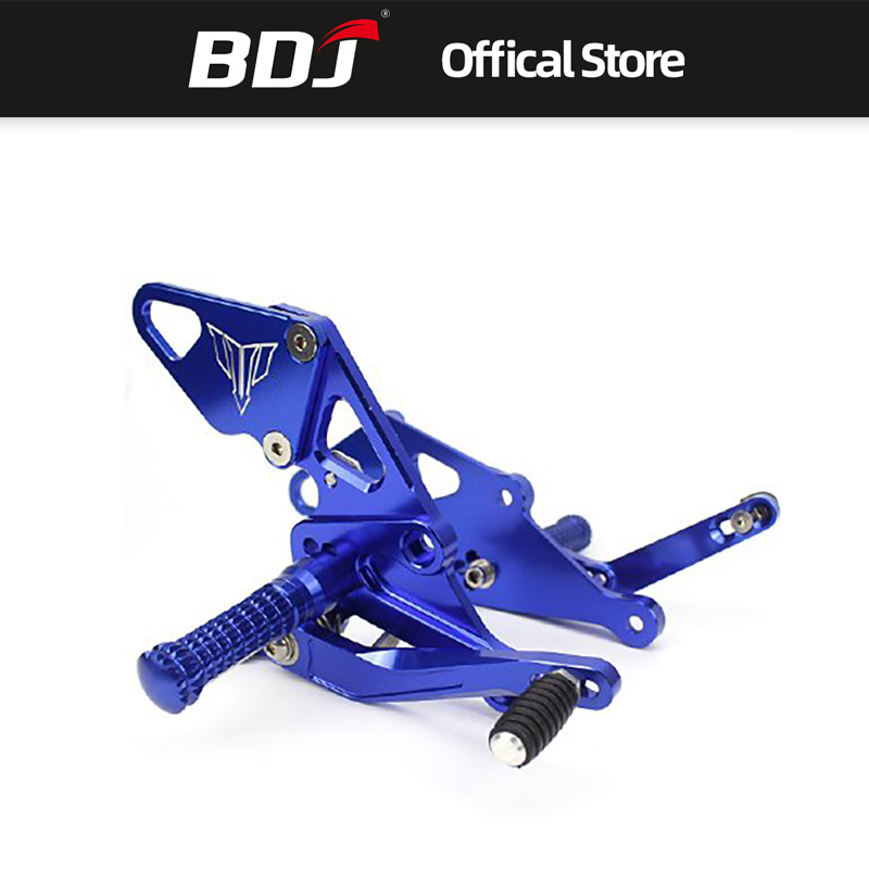 High Quality CNC Motorcycle Adjustable Rear Sets Foot Rest Pegs For Yamaha MT-07 2013-2018 FZ-07 2015-2018