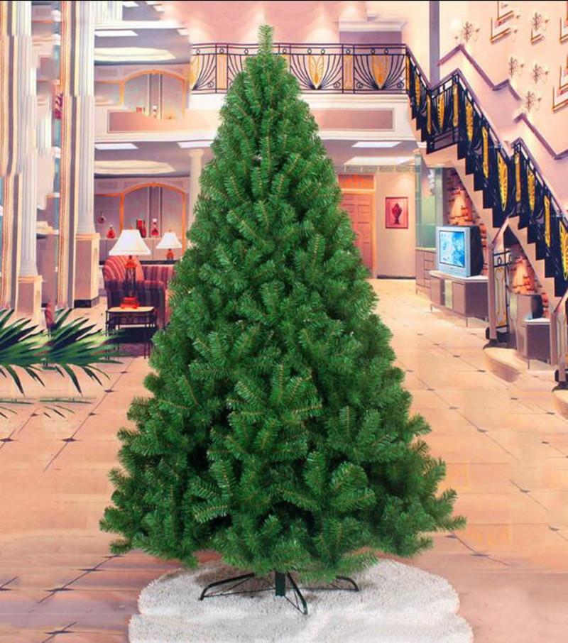 Green Artificial Christmas Tree Undecorated Holiday Seasonal 2 3 4 5 6 7 8 9 Ft